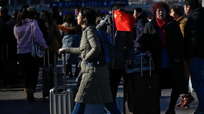 投行看好中國經濟前景。(圖:AFP)