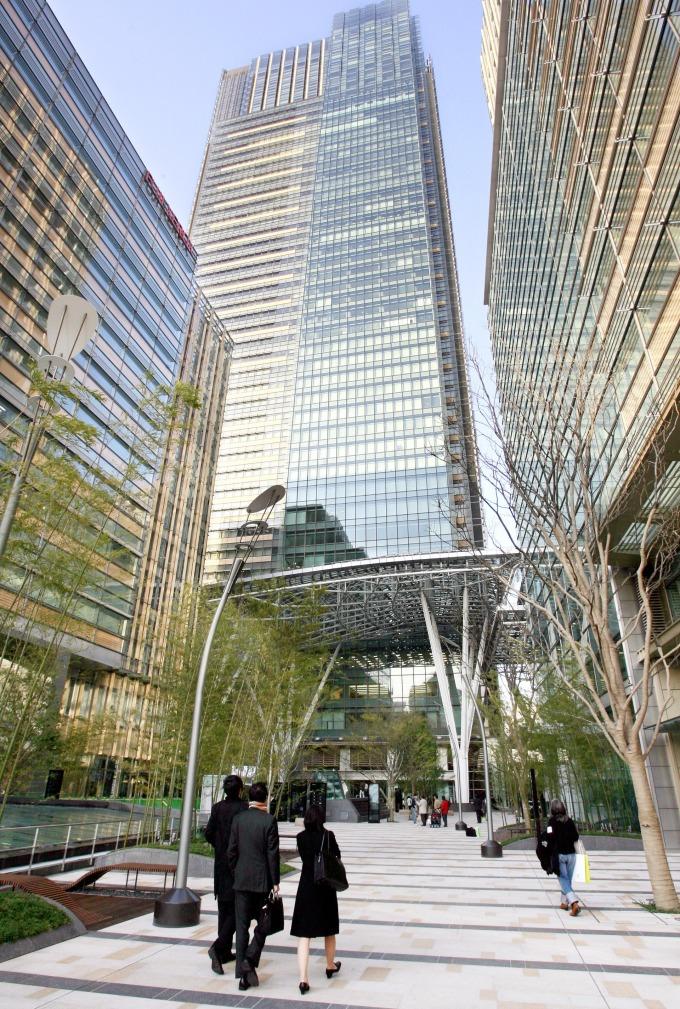 座落在東京港區的 Tokyo Midtown (圖:AFP)