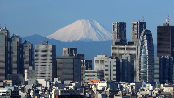 東京商辦已連續63個月租金上揚 (圖:AFP)