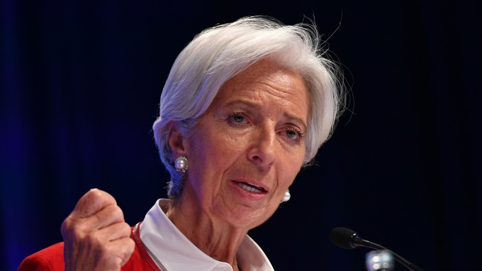 IMF總裁Christine Lagarde (圖:AFP)