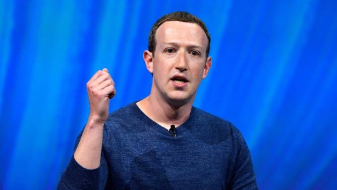 臉書去年花費2000萬美元保護Zuckerberg 金額是3年前的4倍。(圖:AFP)