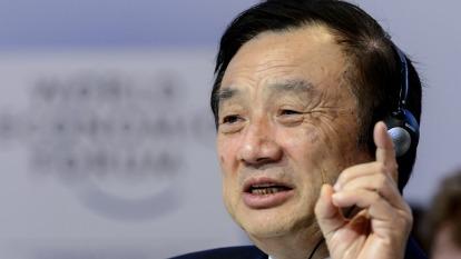 華為執行長接受CNBC專訪 (圖:AFP)