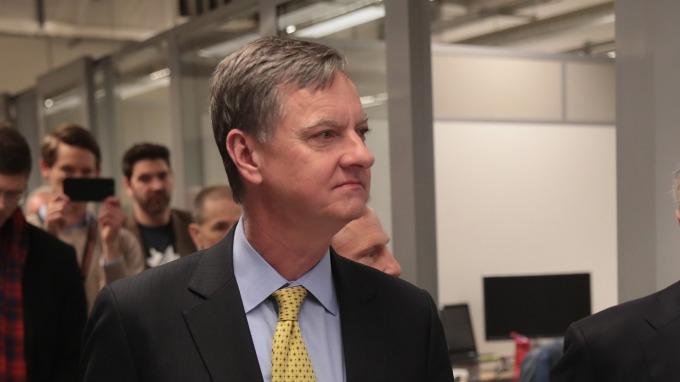 芝加哥 Fed 總裁 Charles Evans (2019 年 FOMC 票委)。(圖:AFP)