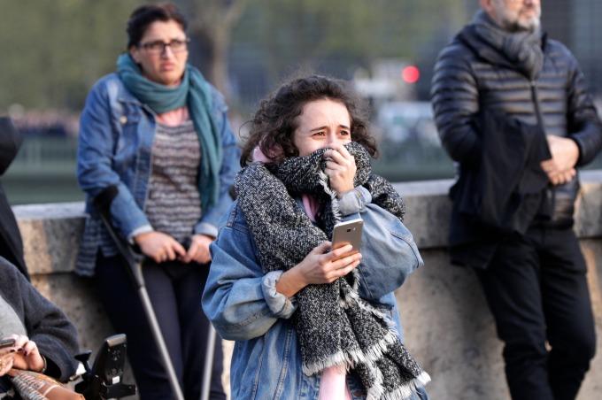 巴黎聖母院已是當地民眾宗教與精神寄託所在。(圖:AFP)
