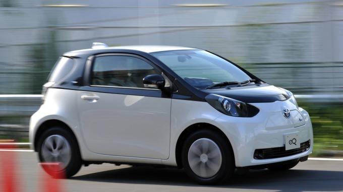 據傳豐田將把eQ電動車技術,賣給中國奇點。(圖:AFP)