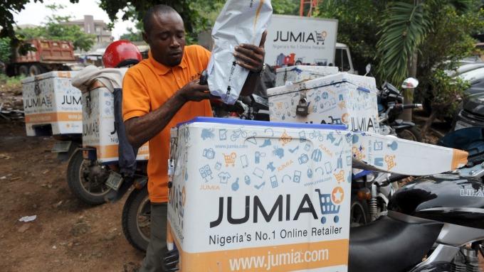 非洲科技新創Jumia上市兩日最高漲超170% (圖:AFP)