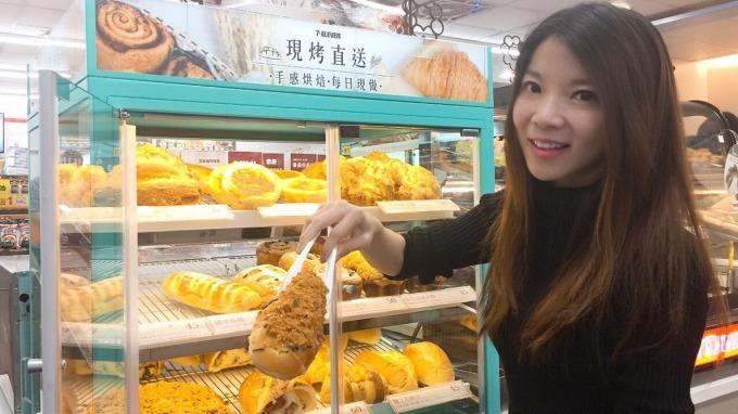 7-ELEVEN再推出麵包新品搶市占。(圖:統一超提供)