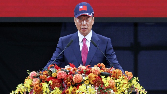 Guo told that if he is selected in the primaries, he will serve as the KMT's presidential candidate.