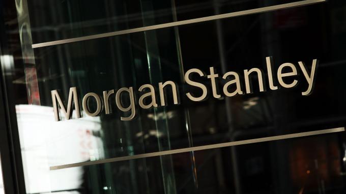 摩根士丹利首季營收、獲利,優於市場預期。(圖:AFP)