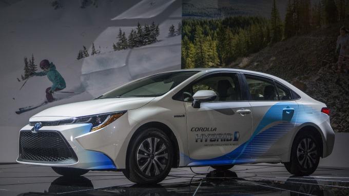 豐田將在巴西生產可用乙醇作為燃料的Corolla HV。(圖為美國市場的Corolla HV) (圖:AFP)
