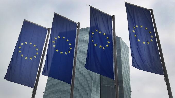 歐元區4月PMI初值依舊疲弱。(圖:AFP)
