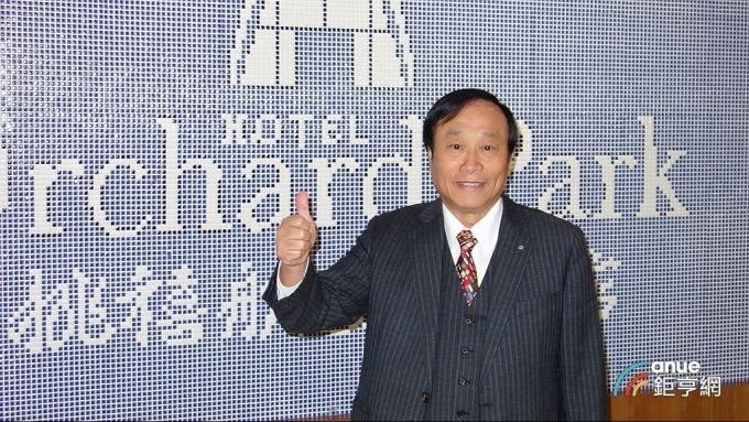 昇貿科技董事長李三連。(鉅亨網記者張欽發攝)