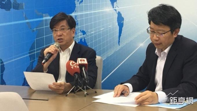 益通總經理楊信華(左)。(鉅亨網資料照)