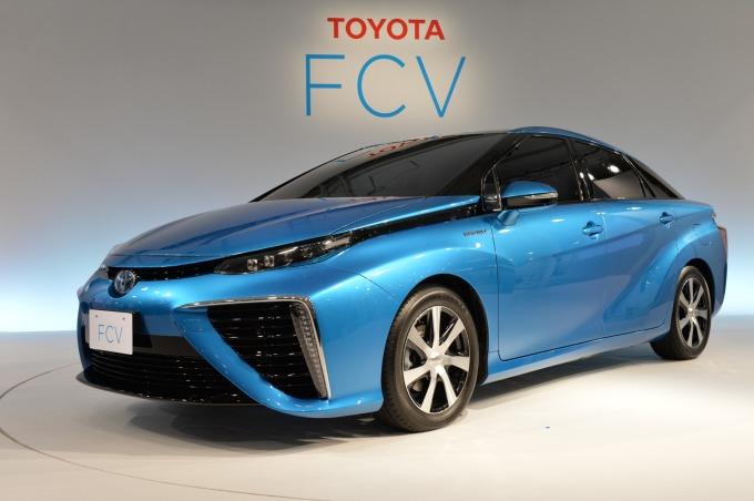 豐田的燃料電池車 (圖: AFP)