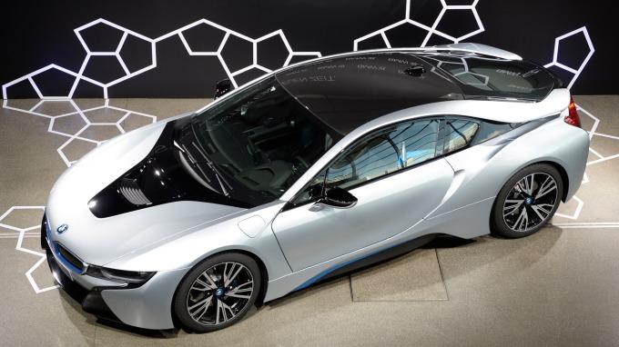 中國在2018年共賣出了125萬輛的純電動車 (圖為BMW i8) (圖:AFP)