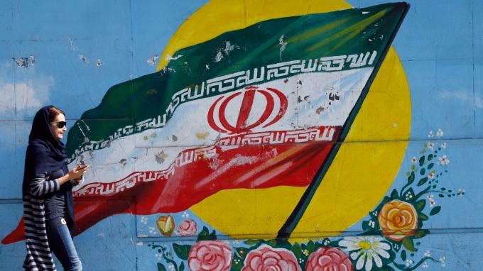 美國對伊朗施以經濟制裁。(圖:AFP)
