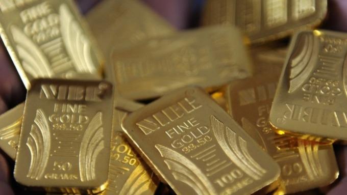 俄羅斯3月增持18.7噸黃金 儲備總量達6970萬盎司 (圖:AFP)