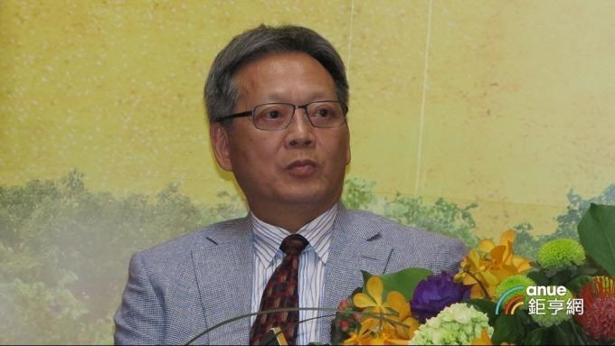 華建前董事長林文亮。(鉅亨網記者張欽發攝)