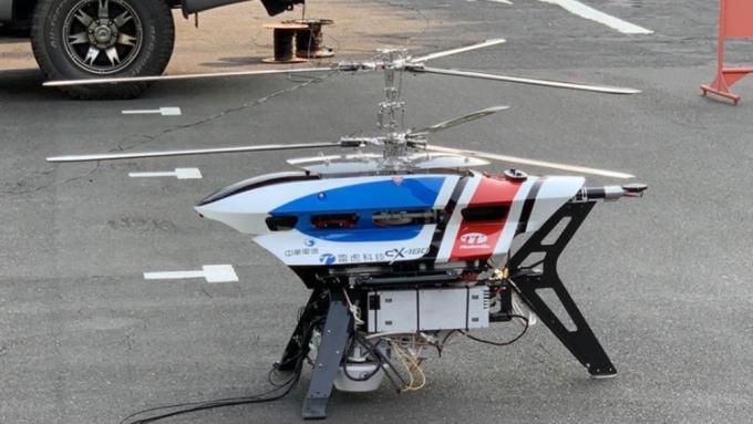 雷虎5G無人機空中基地台。(圖:雷虎提供)
