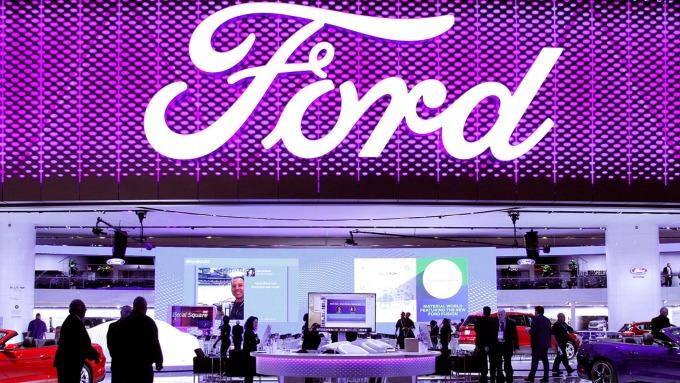 福特週三宣布將向電動車廠Rivian投資5億美元(圖:AFP)