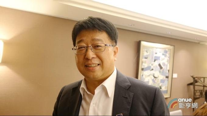 瑞助營造董事長張正岳。(鉅亨網記者張欽發攝)
