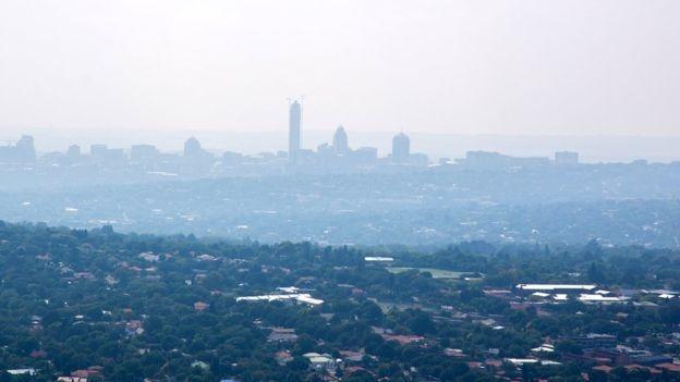 南非地區的空氣污染問題嚴重(圖:BBC)