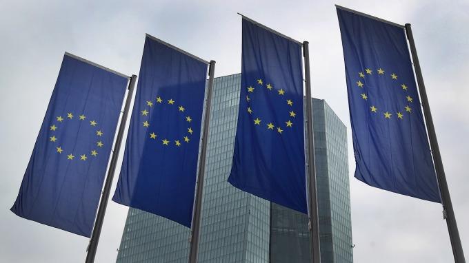 歐元區經濟信心跌至2016年以來新低。(圖:AFP)