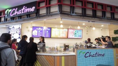 六角日出茶太Chatime澳洲雪梨Burwood店。(圖:六角提供)