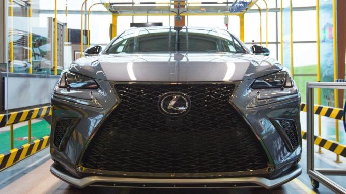 Lexus NX (圖:AFP)