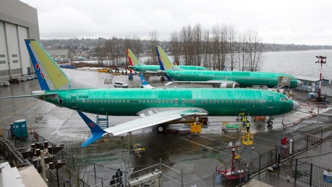 停用737 Max客機上警示器 波音:我們不是故意的。(圖:AFP)
