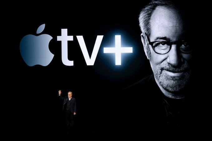 Apple TV + 與 Apple Arcade 將在秋季推出。(圖:AFP)