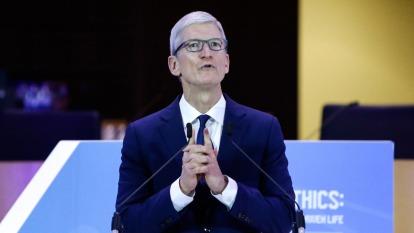 蘋果執行長庫克(圖:AFP)