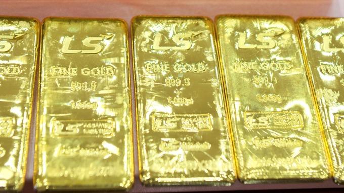 WGC:2019Q1 全球黃金需求量增加7% (圖:AFP)