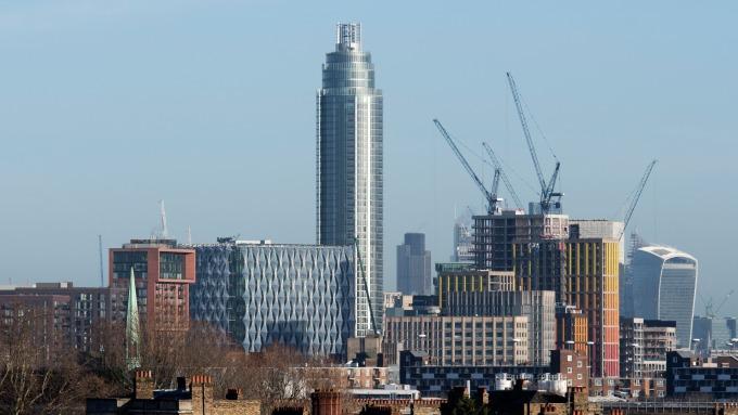 2019年首季,倫敦市中心房價明顯下滑。(圖:AFP)