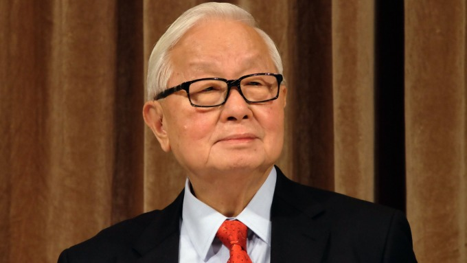 Morris Chang, the founder of TSMC.