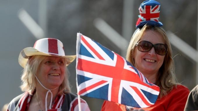 英國央行公布經濟預估報告。(圖:AFP)