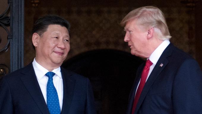 美中貿易緊張情勢升溫。(圖片:AFP)