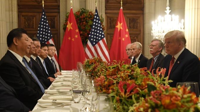 美中貿易談判再度陷入僵著,川習再會陷入變數。(圖片:AFP)