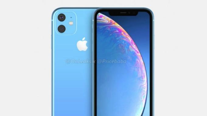 2019 iPhone XR 渲染圖。(圖片:翻攝自 OnLeaks 與 Appleinsider )