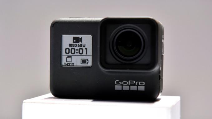 GoPro的HERO7 Black在所有數位影像產品中銷售量第一(圖片:AFP)
