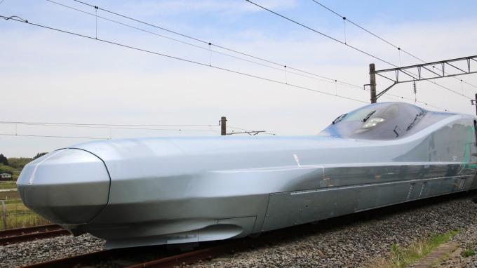 次世代新幹線實驗列車 ALFA-X (圖片:AFP)