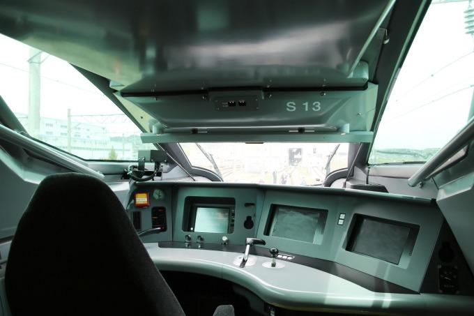 ALFA-X 的駕駛艙 (圖片:AFP)