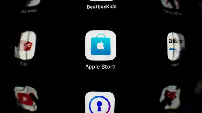 美國最高法院裁定蘋果 App Store 反壟斷訴訟持續進行。(圖片:AFP)