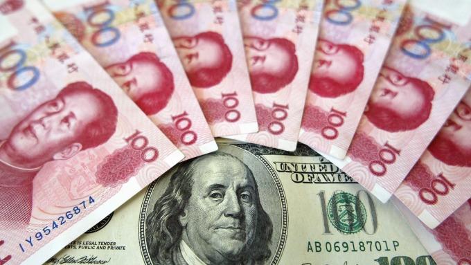 (圖片:AFP) 貿易戰升高 人民幣下跌