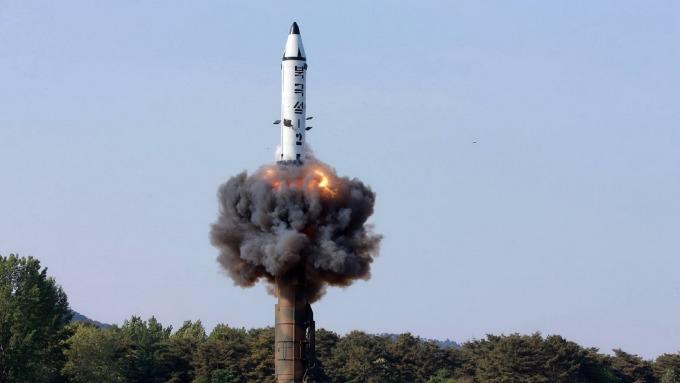 核彈試射示意圖。(圖片:AFP)