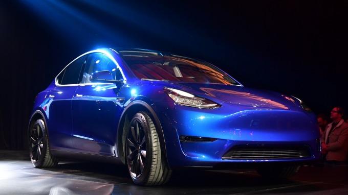 特斯拉Model Y (圖片:AFP)