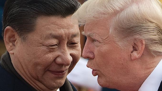 美中貿易爭端加劇。(圖片:AFP)