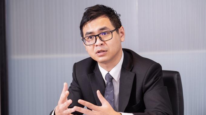 元大台灣高股息ETF連結基金經理人林良一。
