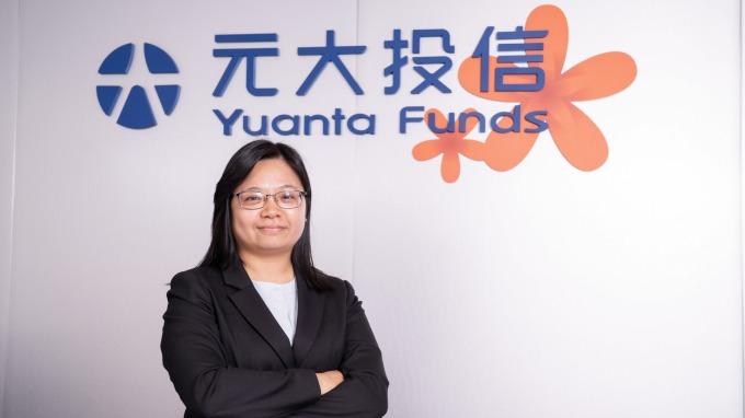 元大台灣卓越50ETF連結基金經理人許雅惠。