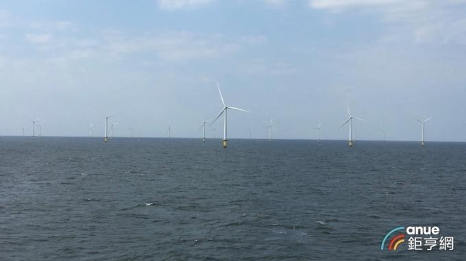 沃旭位於丹麥外海的風場。(鉅亨網資料照)